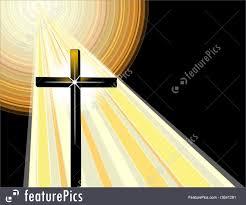 illustration of christian cross