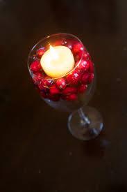wine glass floating cranberry candle holder brady lou project guru