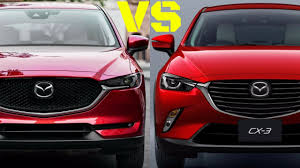 mazda crossover 2017 mazda cx 5 vs cx 3 best sport crossovers youtube
