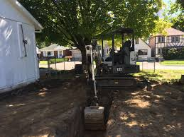 excavator service excavation for a garage extension excavation