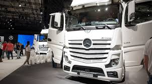 mercedes commercial trucks iaa commercial vehicles 2016 mercedes