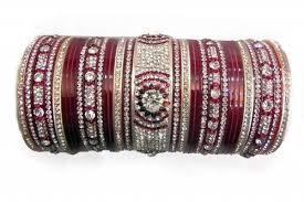 punjabi wedding chura wedding chura at rs 1500 set wedding bangle id 10472136048