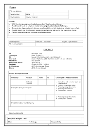 Resume Sample Model by Shining Resume Model 13 Best Resume Examples For Your Job Search
