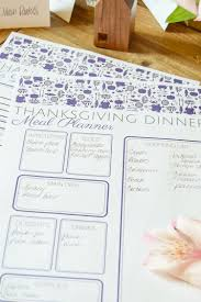 otomi thanksgiving menu planner printable casa watkins living