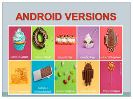 android software versions android and android versions