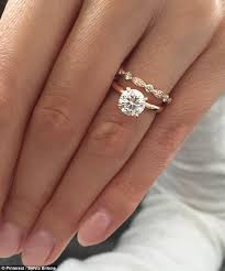 fiancee ring the world s most popular engagement ring revealed daily mail online