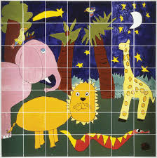 tile wall murals amaco brent large zoowall