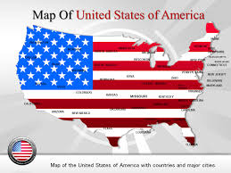 usa map powerpoint template is designed by professionals this ppt