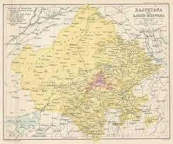 Map Of India States by Rajputana Wikipedia