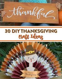 30 diy thanksgiving craft ideas a craft in your day