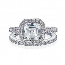 wedding ring sets for wedding ring sets for cz sterling silver engagement ring sets
