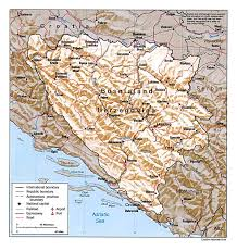 Mapquest Maps Maps Of Bosnia And Herzegovina