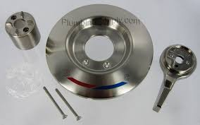 Shower Faucet Trim Kit Brushed Nickel Tub Shower Trim Kits For Delta Valley Mixet And More