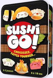sushi go jeu de société chez jeux de nim