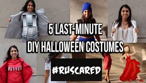 5 last minute diy halloween costumes youtube