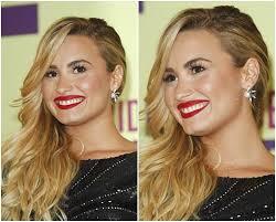 demi lovato earrings demi lovato wears the same earrings thrice in one month