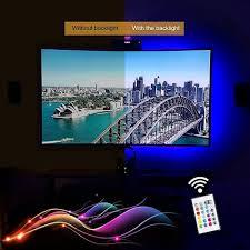 Led Light Strips by Tv Backlight Led Lights Strip With Usb Power 90cm Rgb Multi Color