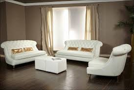 White Leather Loveseats Furniture Magnificent Leather Sofa With Nailhead Trim White