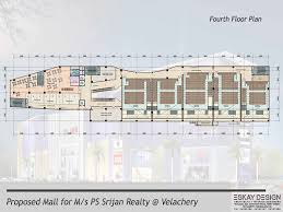 Movie Theater Floor Plan Chennai Malls And Multiplex Projects Entertainment U0026 Week End