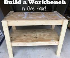 Building Wood Shelves Garage by Best 25 Diy Workbench Ideas On Pinterest Work Bench Diy Small