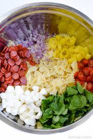 easy cold pasta salad pasta salad recipe cold italian style and so easy fantabulosity