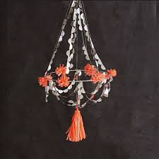 Party Chandelier Decoration by Chandelier Decoration Party Mobile Coral Hanging