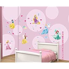 walltastic disney princess room decor kits multi colour amazon