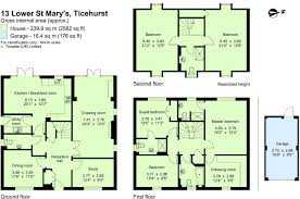 heathrow terminal 5 floor plan 5 bedroom detached house for sale in lower st marys ticehurst