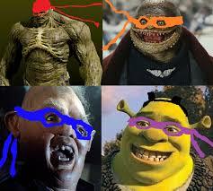 Ninja Turtles Meme - teenage mutant ninja turtles trailer sparks creepy michelangelo