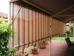 Roll Up Patio Blinds by Roll Up Patio Blinds Lowes Home Design Ideas