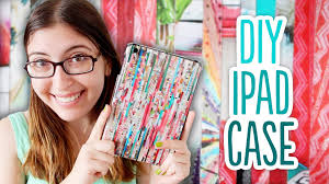Design Your Own Home Ipad by How To Make A Diy Ipad Case Out Of Magazines Youtube