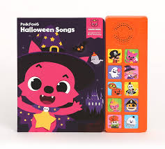 halloween songs for kids amazon com pinkfong children u0027s halloween songs sound book purple