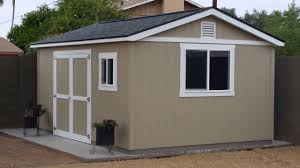 Tuff Shed Tiny House by Tuff Shed Motorcycle Work Shop Build Part 1 Youtube