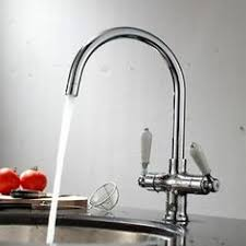 kitchen taps and sinks reginox elbe traditional dual lever kitchen tap mixer chrome