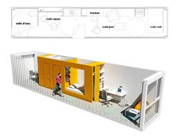 prefab shipping containers house students in architecture contest