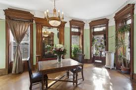the dining room brooklyn brooklyn brownstone calls to mind the late 1800s wsj