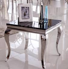 small sofa side table fashion stainless steel side table small coffee table marble glass