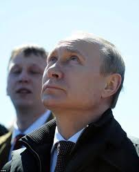 vladimir putin watches successful lift off of soyuz rocket day