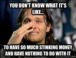 Tom Brady Crying Meme - crying tom brady memes quickmeme