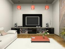 Media Room Pictures - enhancing a home theater experience diy