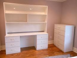 Modern Desk Hutch Impressive Homelegance Hayley 4 Drawer Desk With Hutch In