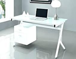 Glass Desk Excellent Crop Ikea Australia White Modern Home Office