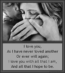 Marriage Quotes For Him I Love You Katie And I Will Love No One Like I Love You Qoutes