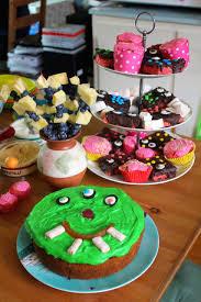 green gourmet giraffe monster cake monster rice krispies and the