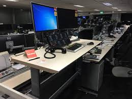 recent project nab trading floor sit stand electric desks seated