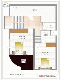 Kerala Home Design Floor Plan And Elevation by Floor Plan Duplex House Plan And Elevation 1770 Sq Ft Kerala
