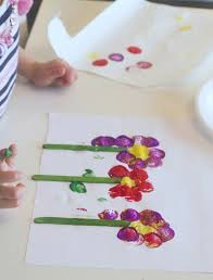 flower craft for kids with a twist fun spring process art