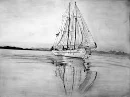 pencil sketches of ships sketch of a viking ship drakkar stock