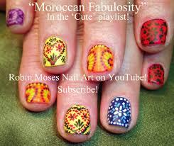 Morocco Design Robin Moses Nail Art