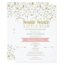 twinkle twinkle baby shower kids bridal party baby shower invitations twinkle twinkle